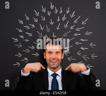 Invest in me I'm the best, Debica, Poland - Stock Photo