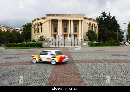 Theatre of Drama at Davit Aghmasheneblis square, Kutaisi, Georgia - Stock Photo