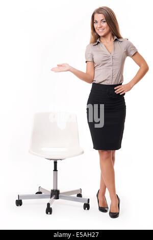Have a seat, please, Debica, Poland - Stock Photo