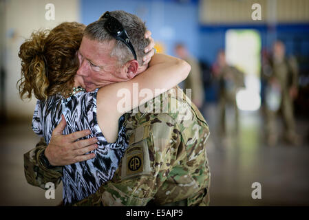 July 24, 2014 - Fort Bragg, NC, USA - July 24, 2014 - Fort Bragg, N.C., USA - Chief Warrant Officer Charles Ray - Stock Photo