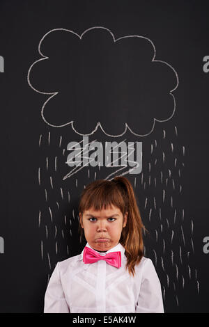 I have very bad day!, Debica, Poland. - Stock Photo