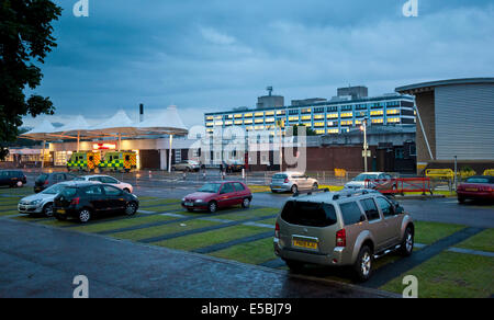 The Royal Preston Hospital in Lancashire - Stock Photo