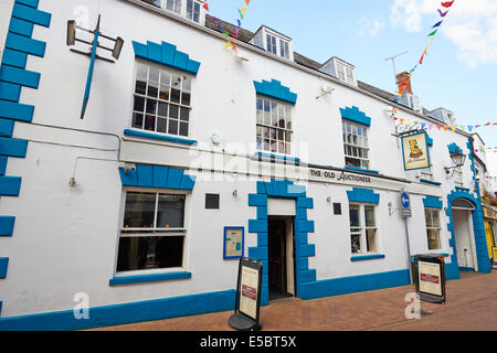 The Old Auctioneer Public House Parson's Street Banbury Oxfordshire UK - Stock Photo