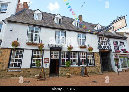 Ye Olde Reine Deer Inn Parson's Street Banbury Oxfordshire UK - Stock Photo