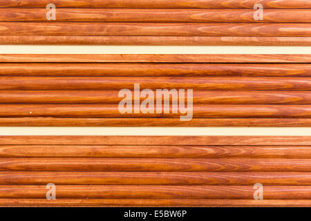 abstract wooden background - horizontal lines - Stock Photo