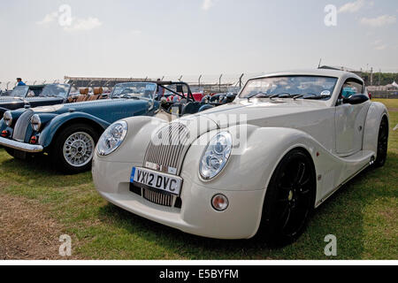Morgan aero supersports auto  convertible 4799cc built in 2012 on show at Silverstone Classic Car Show - Stock Photo
