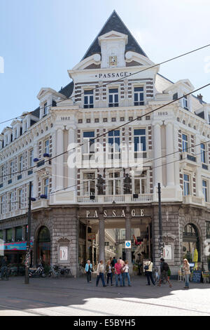 Passage shopping center in The Hague, Holland - Stock Photo