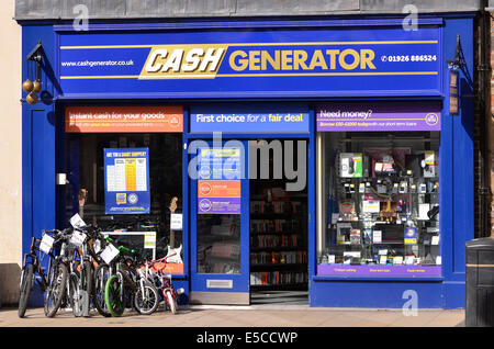 Cash Generator pawnbrokers shop in the centre of ...