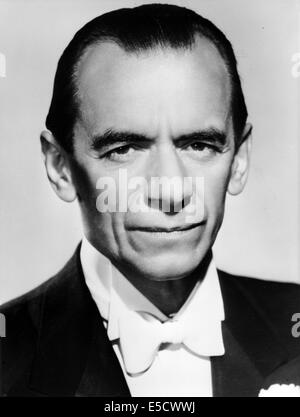 MALCOLM SARGENT (1895-1967) English conductor in 1963. - Stock Photo