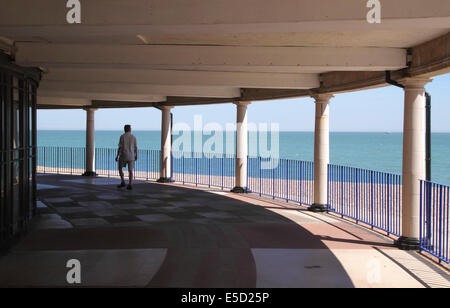 Eastbourne bandstand building East Sussex - Stock Photo
