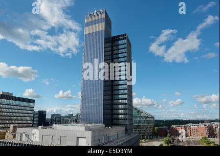 CIS Tower, home of Co-operative Insurance Society, located on Miller Street in Manchester city centre. - Stock Photo