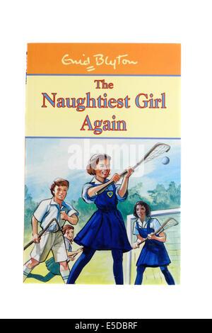 Enid Blyton's children's book The naughtiest girl again. - Stock Photo