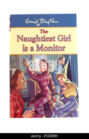 Enid Blyton's children's book The naughtiest girl is a monitor. - Stock Photo