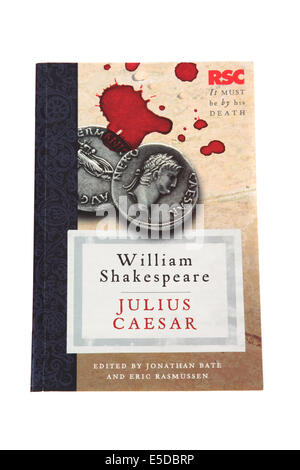 The play Julius Caesar written by William Shakespeare - Stock Photo