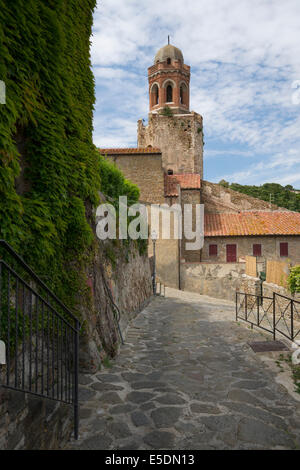 Italy, Tuscany, Castiglione della Pescaia, Pieve di San Giovanni Battista - Stock Photo