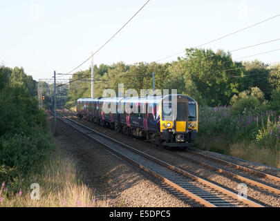 The Manchester airport to Edinburgh express - Stock Photo