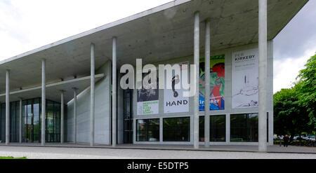 Pinakothek der Moderne, a modern art museum, Munich, Upper Bavaria, Bavaria, Germany, Europe - Stock Photo