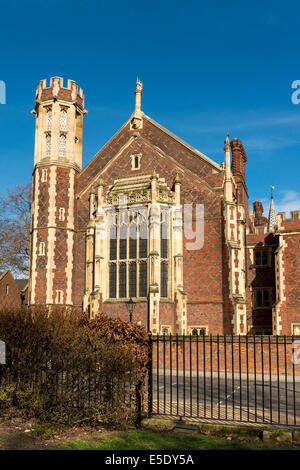 The Library at Lincoln's Inn. The Honourable Society of Lincoln's Inn is one of four Inns of Court in London - Stock Photo