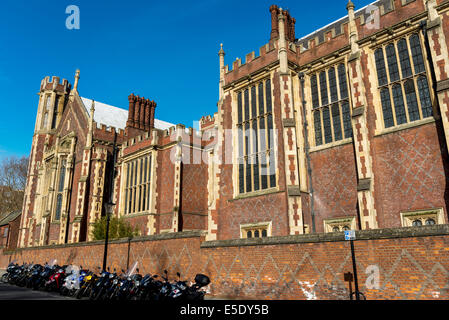 The Great Hall, also called New Hall at Lincoln's Inn. The Honourable Society of Lincoln's Inn is one of four Inns - Stock Photo