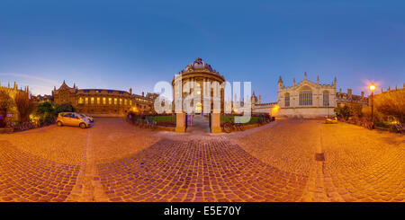 Radcliffe Camera, Oxford University, UK - Stock Photo
