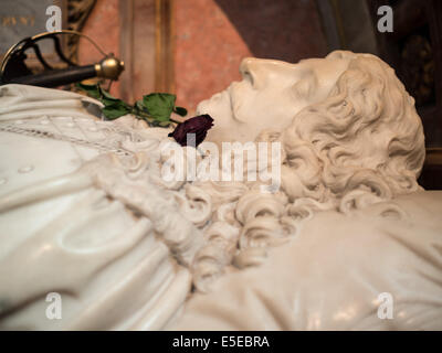 James Graham, 1st Marquess of Montrose, tomb inside St Giles Cathedral - Stock Photo