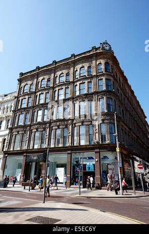 old anderson and mcauley department store building donegall avenue Belfast city centre - Stock Photo