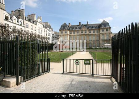France paris 3e le marais hotel particulier hotel for Jardin 41 rue du temple