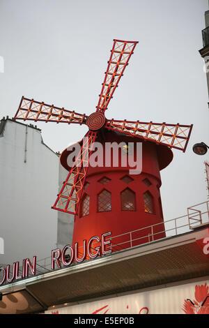 Moulin Rouge, Paris - Stock Photo
