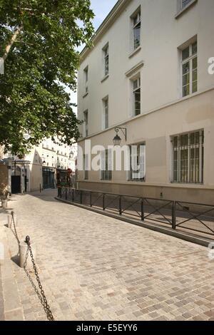 France, Ile de France, paris 13e arrondissement, rue vandrezanne, - Stock Photo
