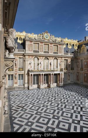Château de Versailles, marble yard - Stock Photo