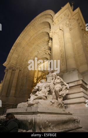 France, ile de france, paris 8e arrondissement, le petit palais, musee des beaux arts de la ville de paris  Date - Stock Photo