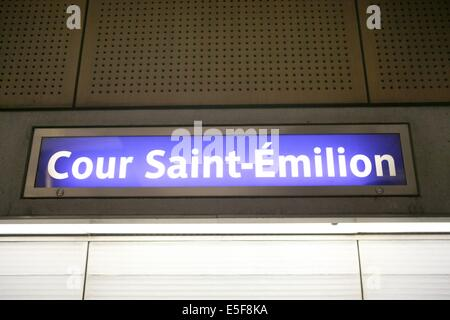 france paris the cour saint emilion at bercy village stock photo royalty free image 48654800. Black Bedroom Furniture Sets. Home Design Ideas
