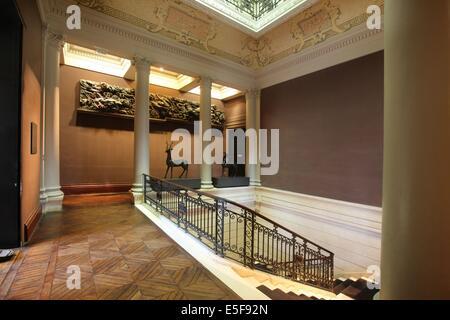 France, ile de france, paris 8e arrondissement, 7 rue velasquez, musee cernuschi, musee des arts asiatiques, mairie - Stock Photo