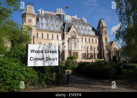 Wood Green Crown Court, London. - Stock Photo