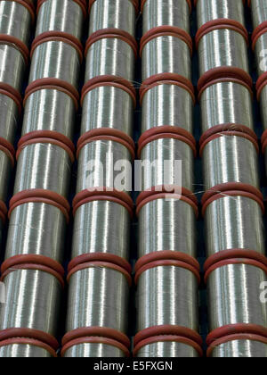 Wire rolls - Stock Photo