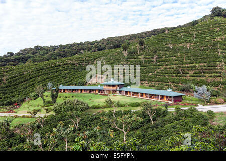 Hotel Finca Lerida Coffee Plantation and Boutique Hotel. Boquete - Stock Photo