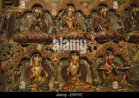 Palcho Monastery in Gyantse Tibet - Stock Photo