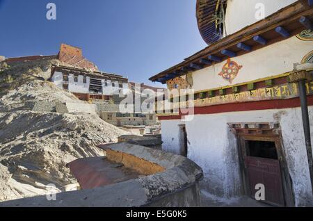 Palcho Monastery in Gyantse, Tibet - Stock Photo