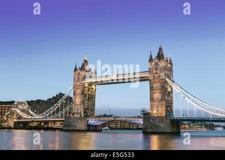 Tower Bridge, London, England - Stock Photo