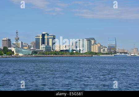 Baku Bay, Azerbaijan - Stock Photo