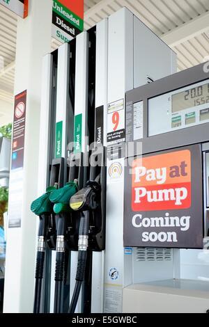 Europe uk england petrol station shell dusk forecourt stock photo royalty free image 19581353 - Esso garage opening times ...