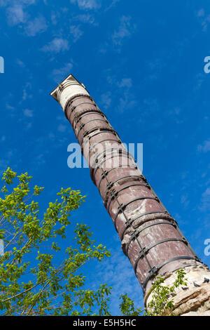 Istanbul Turkey Column Of Constantine Roman Column ...