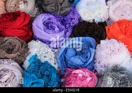 Handmade Lace in Burano Italy - Stock Photo