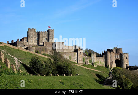 9583. Dover Castle, Dover, Kent - Stock Photo