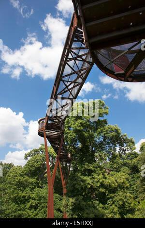 Kew Gardens Xstrata Treetop Walkway - Stock Photo