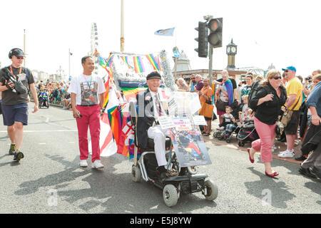 Brighton Pride Parade 2014 - Stock Photo