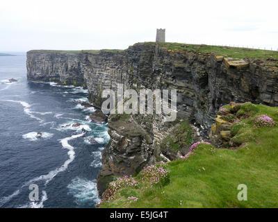 Marwick Head, Orkney mainland, June 2014 - Stock Photo