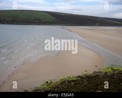 Waulkmill Bay, Orkney mainland, June 2014 - Stock Photo