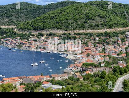 Kut Village Vis Island, Croatia - Stock Photo