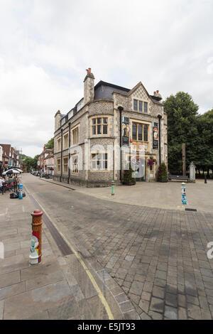 Winchester City Museum, The Square, Winchester, Hampshire, UK - Stock Photo